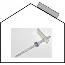 TWIN 2.0 Set-Set-pitched roof -Stair bolt, V2A